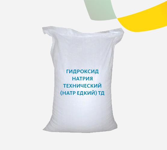 Гидроксид натрия (натр едкий) технический твёрдый ТР