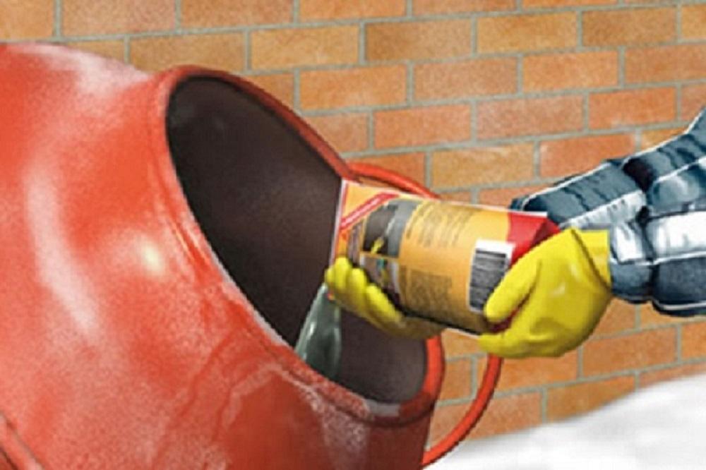 Средства для очистки от бетона и ржавчины
