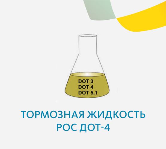 Тормозная жидкость Рос Дот-4